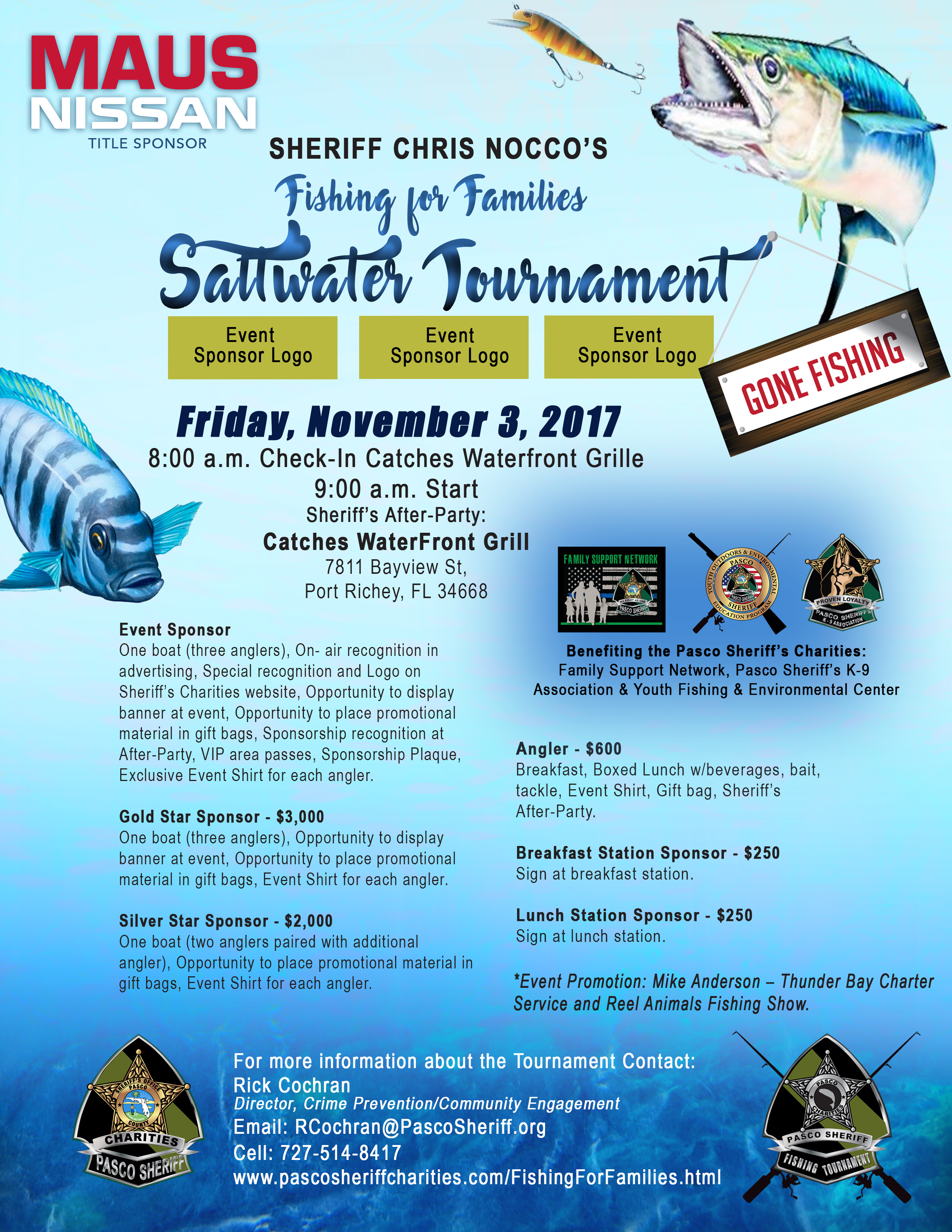 Fishing For Families Flyer
