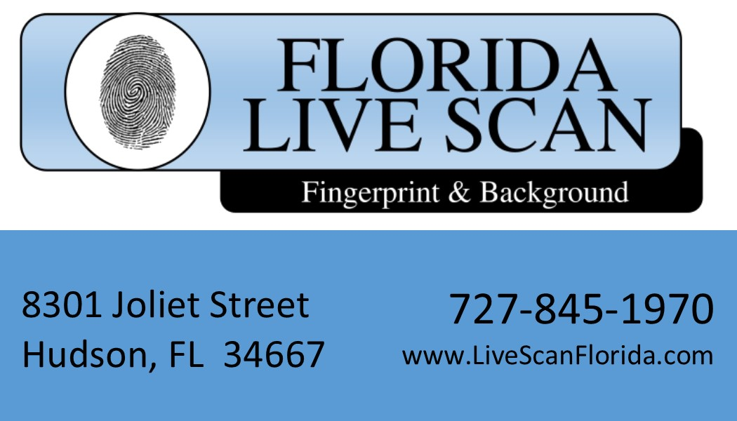 Florida Live Scan Logo